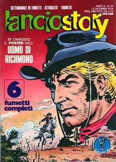 Copertina LANCIOSTORY ANNO 02 n.49 - LANCIOSTORY 1976   49, EDITORIALE AUREA
