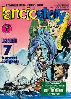 Copertina LANCIOSTORY ANNO 02 n.51 - LANCIOSTORY 1976   51, EDITORIALE AUREA