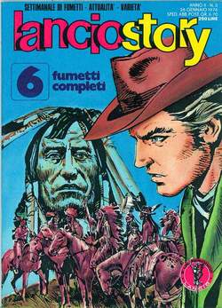 Copertina LANCIOSTORY ANNO 02 n.3 - LANCIOSTORY 1976    3, EDITORIALE AUREA
