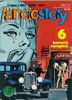 Copertina LANCIOSTORY ANNO 02 n.8 - LANCIOSTORY 1976    8, EDITORIALE AUREA