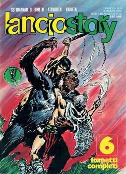 Copertina LANCIOSTORY ANNO 02 n.9 - LANCIOSTORY 1976    9, EDITORIALE AUREA