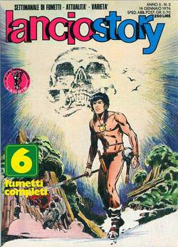 Copertina LANCIOSTORY ANNO 02 n.2 - LANCIOSTORY 1976    2, EDITORIALE AUREA
