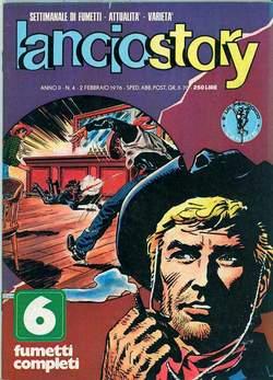 Copertina LANCIOSTORY ANNO 02 n.4 - LANCIOSTORY 1976    4, EDITORIALE AUREA