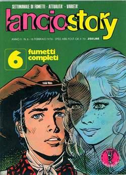 Copertina LANCIOSTORY ANNO 02 n.6 - LANCIOSTORY 1976    6, EDITORIALE AUREA