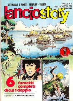 Copertina LANCIOSTORY ANNO 03 n.11 - LANCIOSTORY 1977   11, EDITORIALE AUREA