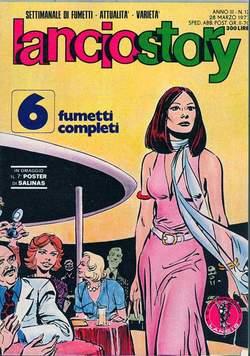 Copertina LANCIOSTORY ANNO 03 n.12 - LANCIOSTORY 1977   12, EDITORIALE AUREA