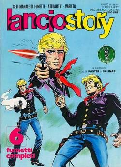 Copertina LANCIOSTORY ANNO 03 n.14 - LANCIOSTORY 1977   14, EDITORIALE AUREA