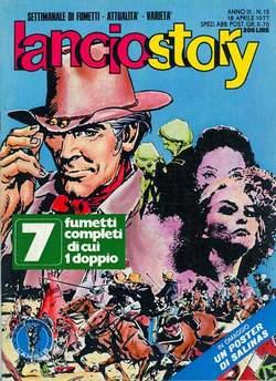 Copertina LANCIOSTORY ANNO 03 n.15 - LANCIOSTORY 1977   15, EDITORIALE AUREA