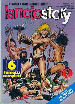 Copertina LANCIOSTORY ANNO 03 n.16 - LANCIOSTORY 1977   16, EDITORIALE AUREA