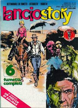 Copertina LANCIOSTORY ANNO 03 n.19 - LANCIOSTORY 1977   19, EDITORIALE AUREA