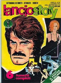 Copertina LANCIOSTORY ANNO 03 n.22 - LANCIOSTORY 1977   22, EDITORIALE AUREA