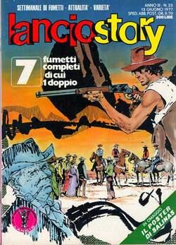 Copertina LANCIOSTORY ANNO 03 n.23 - LANCIOSTORY 1977   23, EDITORIALE AUREA