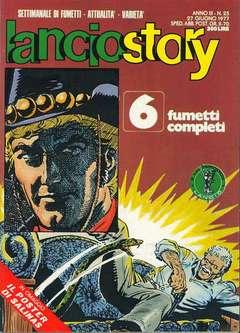 Copertina LANCIOSTORY ANNO 03 n.25 - LANCIOSTORY 1977   25, EDITORIALE AUREA