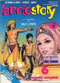 Copertina LANCIOSTORY ANNO 03 n.26 - LANCIOSTORY 1977   26, EDITORIALE AUREA