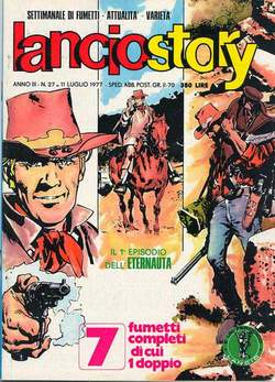 Copertina LANCIOSTORY ANNO 03 n.27 - LANCIOSTORY 1977   27, EDITORIALE AUREA