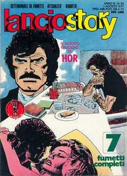 Copertina LANCIOSTORY ANNO 03 n.30 - LANCIOSTORY 1977   30, EDITORIALE AUREA