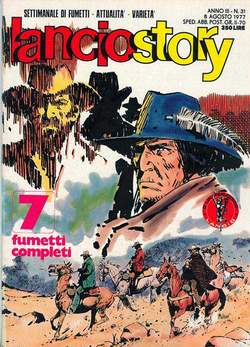 Copertina LANCIOSTORY ANNO 03 n.31 - LANCIOSTORY 1977   31, EDITORIALE AUREA
