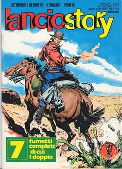 Copertina LANCIOSTORY ANNO 03 n.32 - LANCIOSTORY 1977   32, EDITORIALE AUREA