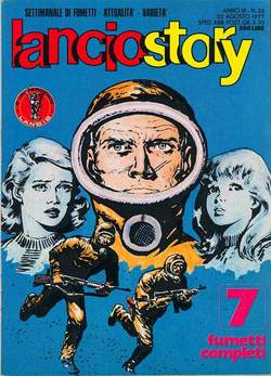 Copertina LANCIOSTORY ANNO 03 n.33 - LANCIOSTORY 1977   33, EDITORIALE AUREA