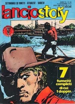Copertina LANCIOSTORY ANNO 03 n.36 - LANCIOSTORY 1977   36, EDITORIALE AUREA