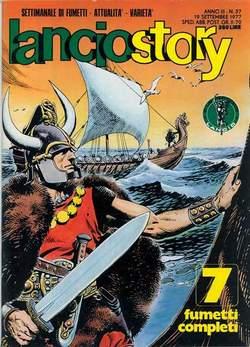 Copertina LANCIOSTORY ANNO 03 n.37 - LANCIOSTORY 1977   37, EDITORIALE AUREA
