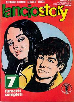 Copertina LANCIOSTORY ANNO 03 n.38 - LANCIOSTORY 1977   38, EDITORIALE AUREA