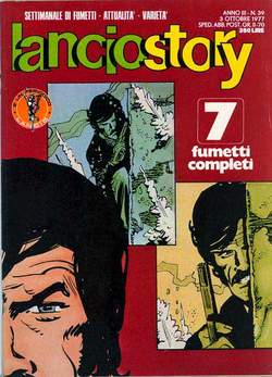 Copertina LANCIOSTORY ANNO 03 n.39 - LANCIOSTORY 1977   39, EDITORIALE AUREA