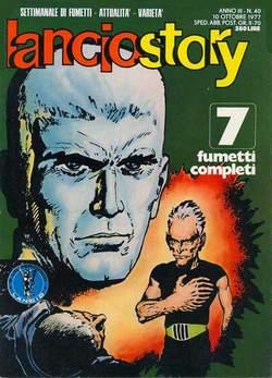 Copertina LANCIOSTORY ANNO 03 n.40 - LANCIOSTORY 1977   40, EDITORIALE AUREA