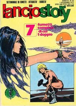 Copertina LANCIOSTORY ANNO 03 n.44 - LANCIOSTORY 1977   44, EDITORIALE AUREA