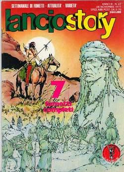 Copertina LANCIOSTORY ANNO 03 n.47 - LANCIOSTORY 1977   47, EDITORIALE AUREA