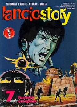 Copertina LANCIOSTORY ANNO 03 n.48 - LANCIOSTORY 1977   48, EDITORIALE AUREA