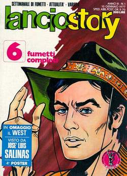 Copertina LANCIOSTORY ANNO 03 n.1 - LANCIOSTORY 1977    1, EDITORIALE AUREA