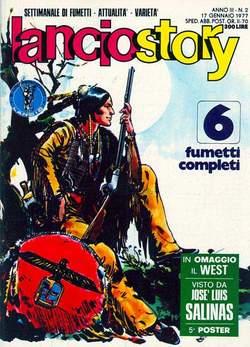 Copertina LANCIOSTORY ANNO 03 n.2 - LANCIOSTORY 1977    2, EDITORIALE AUREA