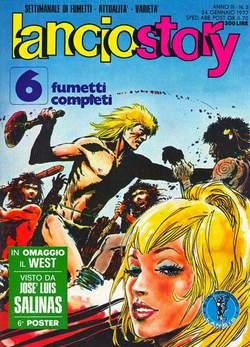 Copertina LANCIOSTORY ANNO 03 n.3 - LANCIOSTORY 1977    3, EDITORIALE AUREA