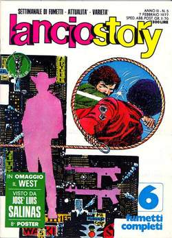 Copertina LANCIOSTORY ANNO 03 n.5 - LANCIOSTORY 1977    5, EDITORIALE AUREA