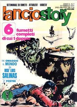 Copertina LANCIOSTORY ANNO 03 n.7 - LANCIOSTORY 1977    7, EDITORIALE AUREA