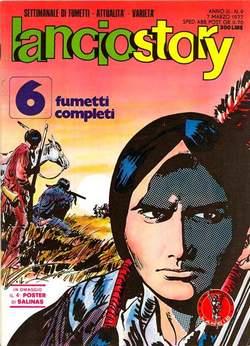 Copertina LANCIOSTORY ANNO 03 n.9 - LANCIOSTORY 1977    9, EDITORIALE AUREA