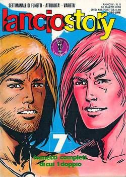 Copertina LANCIOSTORY ANNO 04 n.11 - LANCIOSTORY 1978   11, EDITORIALE AUREA