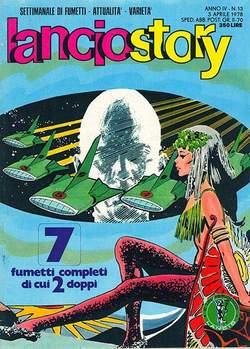 Copertina LANCIOSTORY ANNO 04 n.13 - LANCIOSTORY 1978   13, EDITORIALE AUREA