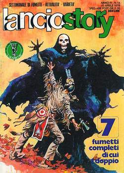 Copertina LANCIOSTORY ANNO 04 n.14 - LANCIOSTORY 1978   14, EDITORIALE AUREA