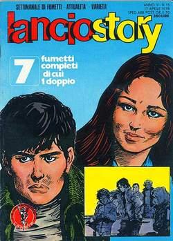 Copertina LANCIOSTORY ANNO 04 n.15 - LANCIOSTORY 1978   15, EDITORIALE AUREA