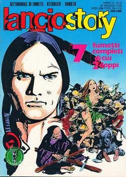 Copertina LANCIOSTORY ANNO 04 n.21 - LANCIOSTORY 1978   21, EDITORIALE AUREA