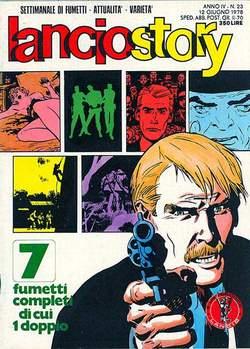 Copertina LANCIOSTORY ANNO 04 n.23 - LANCIOSTORY 1978   23, EDITORIALE AUREA