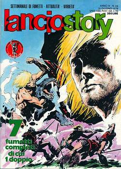 Copertina LANCIOSTORY ANNO 04 n.24 - LANCIOSTORY 1978   24, EDITORIALE AUREA
