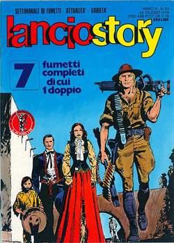 Copertina LANCIOSTORY ANNO 04 n.25 - LANCIOSTORY 1978   25, EDITORIALE AUREA