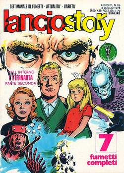 Copertina LANCIOSTORY ANNO 04 n.26 - LANCIOSTORY 1978   26, EDITORIALE AUREA