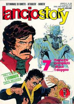 Copertina LANCIOSTORY ANNO 04 n.28 - LANCIOSTORY 1978   28, EDITORIALE AUREA