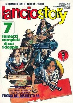 Copertina LANCIOSTORY ANNO 04 n.29 - LANCIOSTORY 1978   29, EDITORIALE AUREA