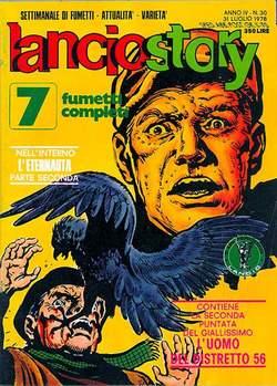 Copertina LANCIOSTORY ANNO 04 n.30 - LANCIOSTORY 1978   30, EDITORIALE AUREA