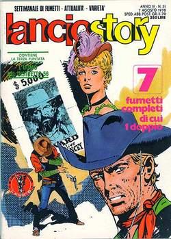 Copertina LANCIOSTORY ANNO 04 n.31 - LANCIOSTORY 1978   31, EDITORIALE AUREA